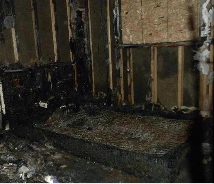 Carson City Fire Charred Bedroom Before