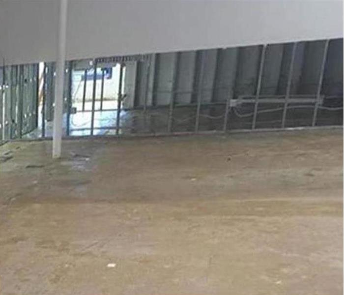Commercial water damage – Carson City Warehouse