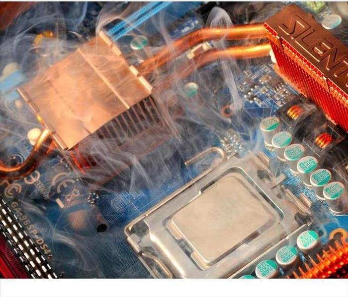 Find Out How Electronic Equipment Is Restored After Fire