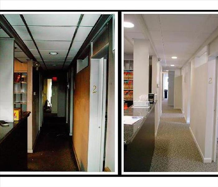 Commercial Cleaning And Removing Carson City Commercial Flood Damage