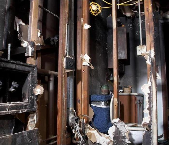 Fire Damage Restoring Your Morning Routine After Fire Damage Takes Out Your Tahoe Home's Bathroom