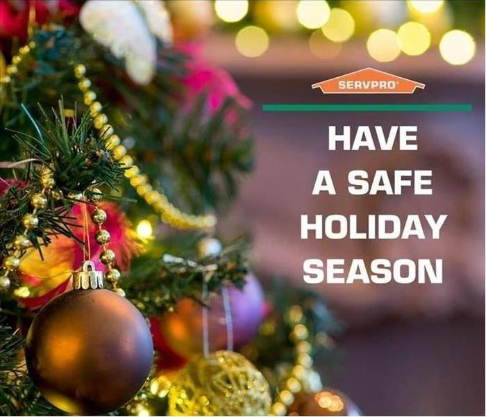 """Have a Safe Holiday Season"" - SERVPRO"